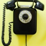 Old vintage phone — Stock Photo #2186696
