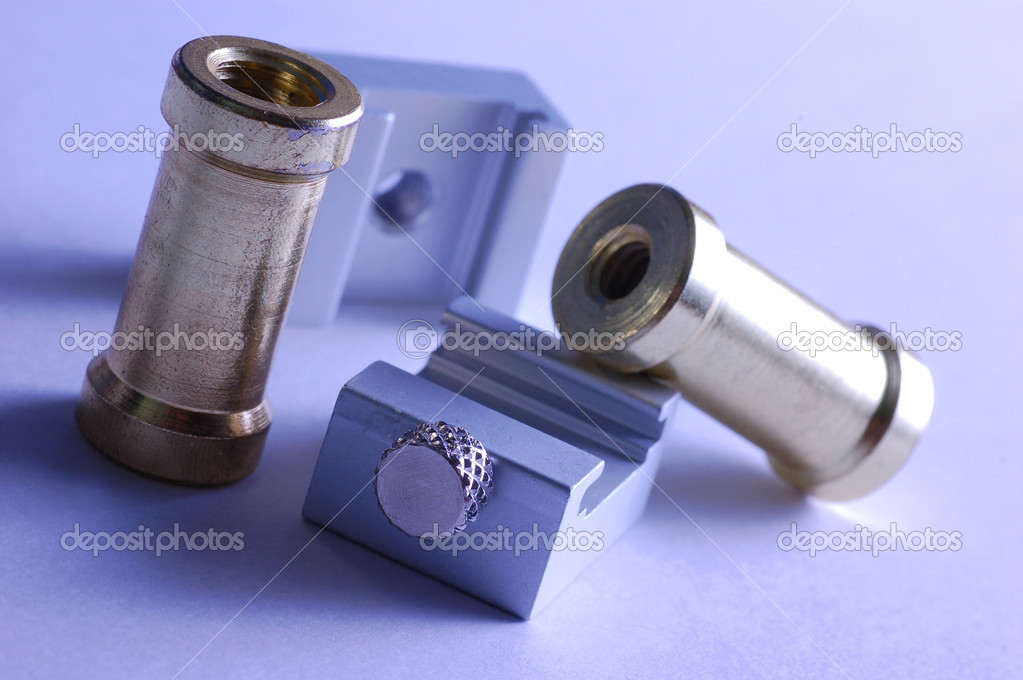 Macro of technical precision tools — Foto Stock #2029667