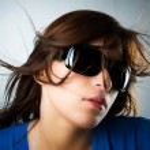 Glamour girl portrét — Stock fotografie