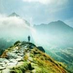 krajobraz gór — Zdjęcie stockowe