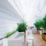 Modern business interior — Stock Photo