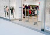 L'entrée d'un centre commercial — Photo