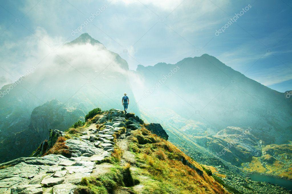 Фотообои Горы пейзаж