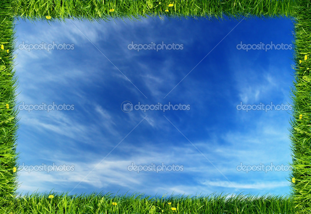 Nature frame background   Stock Photo    Michal Bednarek  2035642