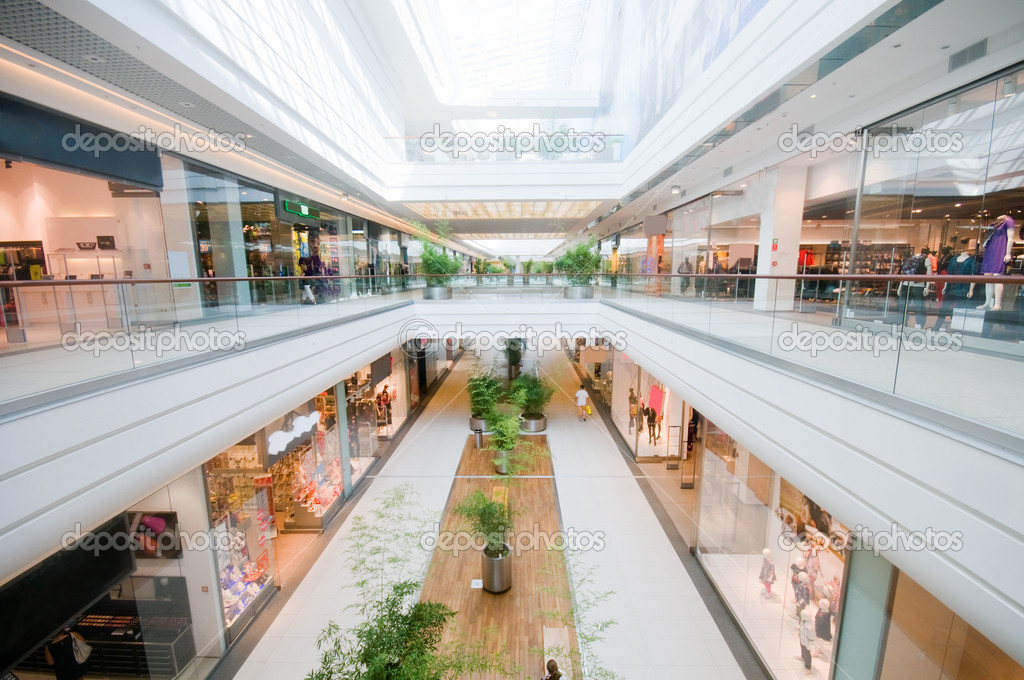 Modern shopping mall. Shopping centre — Foto Stock #2036353