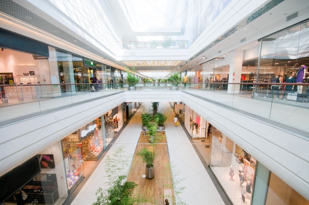 Modern shopping mall. Shopping centre — Stock Photo #2036353
