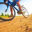 Royalty-Free Stock Photo: Extreme cycling sport