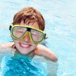 Happy boy in a pool — Stock Photo #2044566