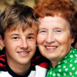 Grandmother with grandson — Stock Photo #2044823