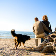 Couple on the beach — Stock Photo #2045307