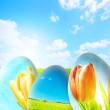 Perfect easter background — Stock Photo #2049621