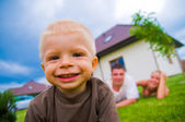 Happy child, happy life — Stock Photo