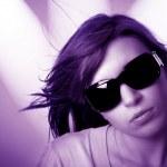 Disco girl — Stock fotografie