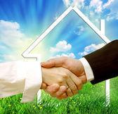 Housing deal — Stock Photo