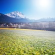 Stock Photo: Spring Alpine scenery