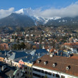 Mountain city in the Alps. Innsbruck — Stock Photo
