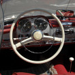 Vintage mersedes car dashboard — Stock Photo