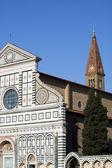 Florencia, santa maria novella — Foto de Stock