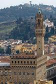 Florence, Palazzo Vecchio — Stock Photo