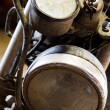 Stock Photo: Motorcycle light
