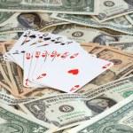 Poker for money — Stock Photo #1987355