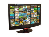 TV set — Stock Photo