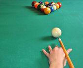 Bolas de billar — Foto de Stock