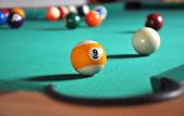 Billiard game — Stock Photo