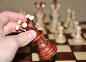 Chess play — Stock Photo