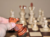Chess play — Stock Photo