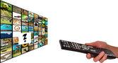 Television concept — Stock Photo