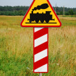 Photo: Train sign