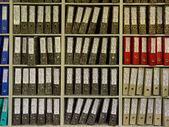файлы в офисе — Стоковое фото