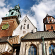 Foto Stock: Cathedral at Wawel hill in Cracow