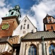 Cathedral at Wawel hill in Cracow — Stockfoto #1971025