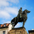 Statue of King Wladyslaw Jagiello - Stock Photo