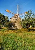 Old windmill — Stockfoto