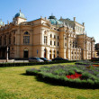 Stock Photo: Theater built in 1892 in Cracow