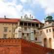 Royal Wawel Castle, Cracow. — Stock Photo