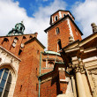 Cathedral at Wawel hill in Cracow — Stok Fotoğraf #2026950