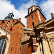 Cathedral at Wawel hill in Cracow — Zdjęcie stockowe #2026950