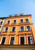 Antigua casa en cracovia — Foto de Stock