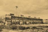 Antiga fábrica — Foto Stock