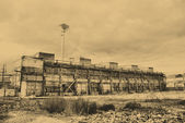 Gamla fabriken — Stockfoto
