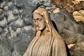 Holy mary statue — Stock Photo
