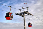 Cable cars — Stock Photo