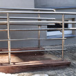 Foto Stock: Modern wheelchair ramp