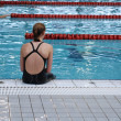Swimmer — Stock Photo