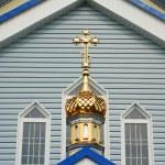 Old church in ukraine — Stock Photo