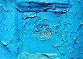 古い青い壁のテクスチャ — ストック写真